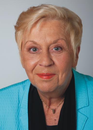 Inge Wolff, Vorsitzende Arbeitskreis Umgangsformen International (AUI), AUI Mitglied
